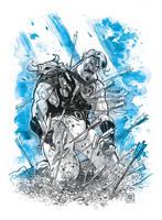 A knight's tale :( by Jovan-Ukropina