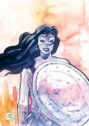 Wonder woman by Jovan-Ukropina