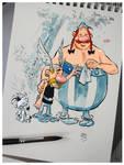 Asterix, Obelix and Idefix
