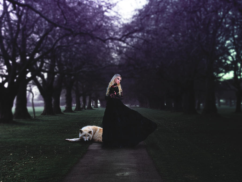The Widow by AWanderingDryad