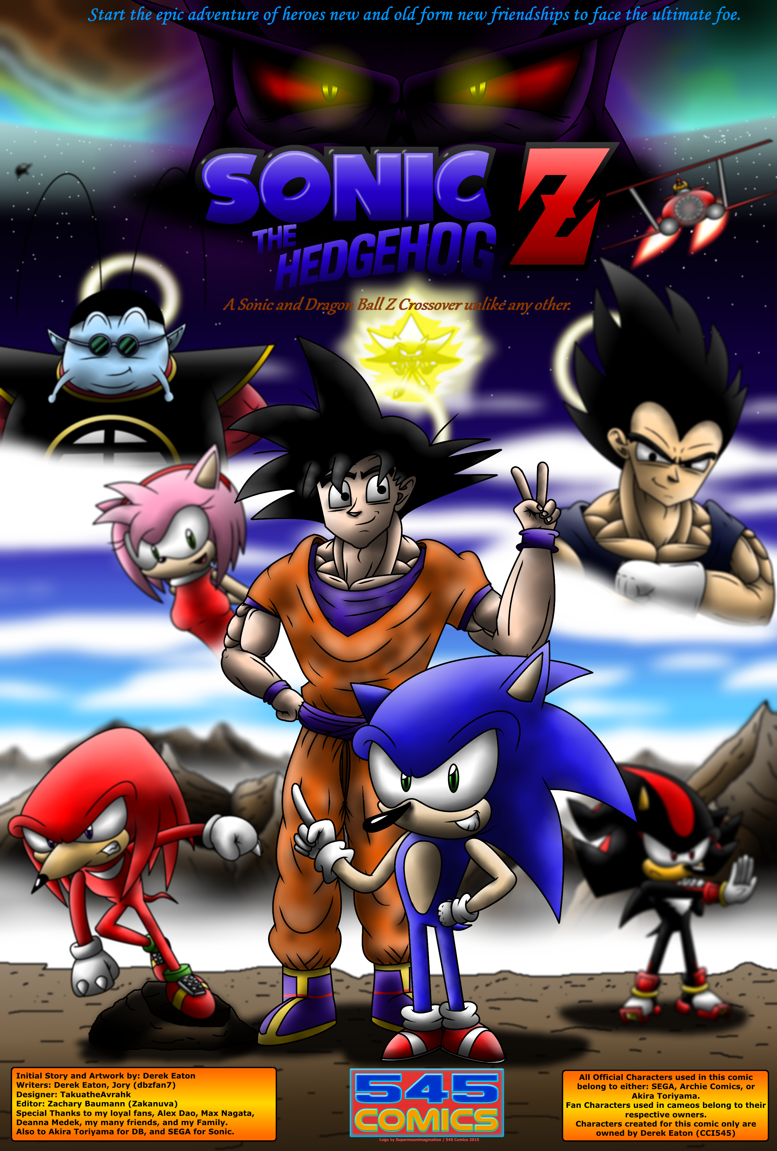 Sonic The Hedgehog Z Comic Cover 2015 Links Below By Cci545 On Deviantart