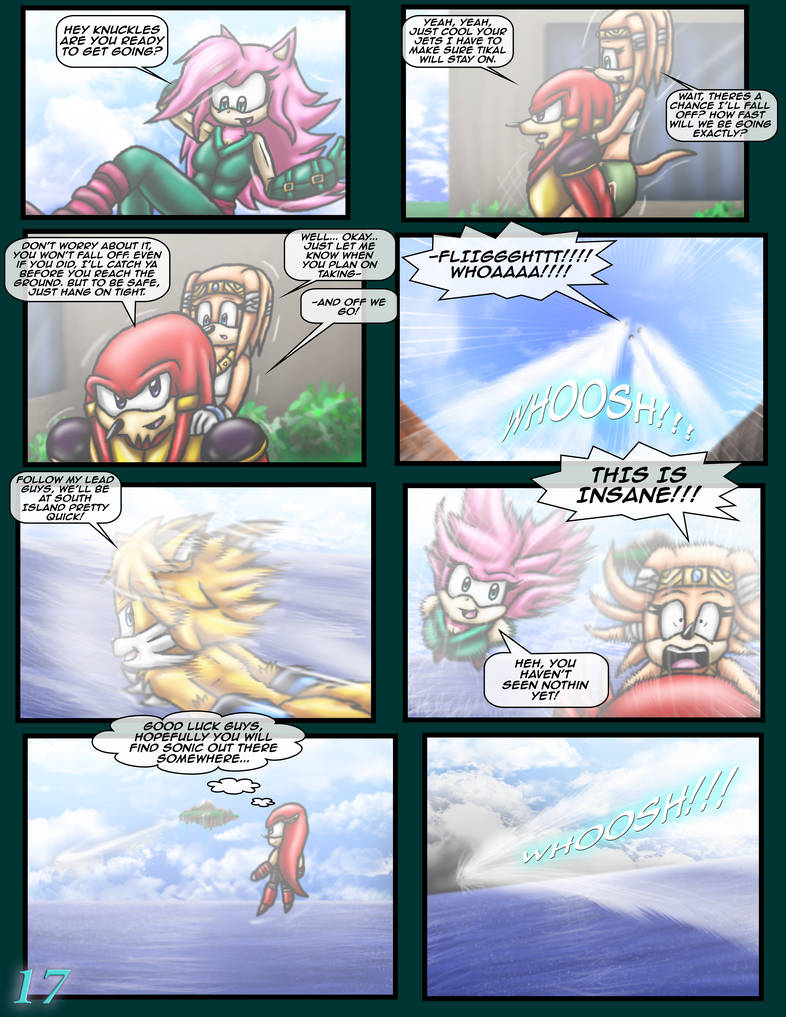 Sonic The Hedgehog Z 16 Pg 17 January 2020 By Cci545 On Deviantart