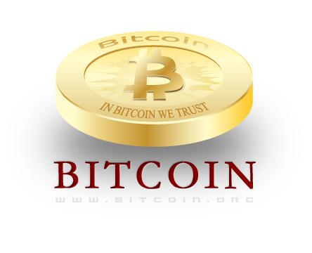 Bitcoin Logo Bitcoin Logo on White by