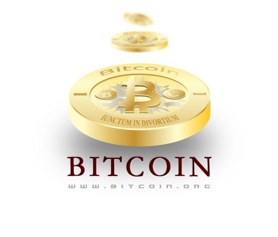 Bitcoin Logo Latin Phrase Red1