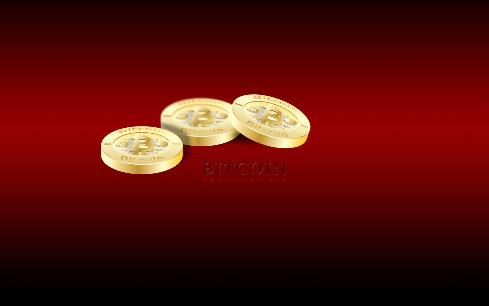 Bitcoin DskTp Wallpaper Red 4