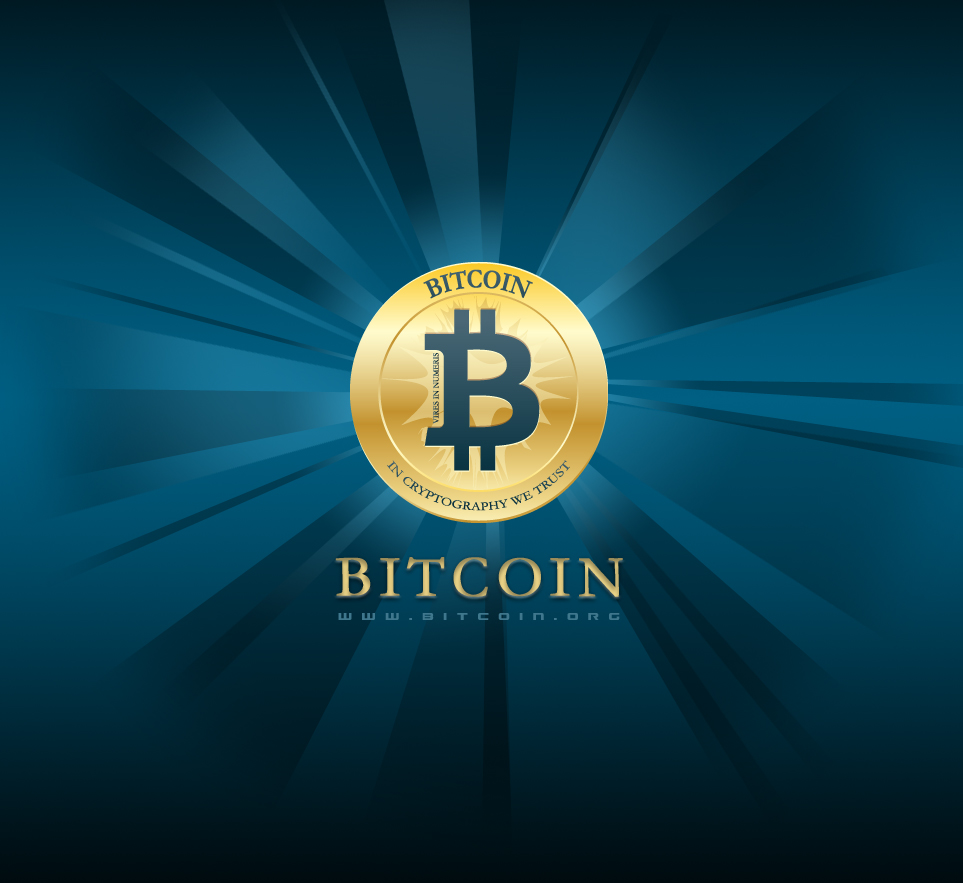 Bitcoin Logo Flat Coin Star BL by carbonism on DeviantArt