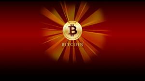 Bitcoin Logo Flat Coin Star RD