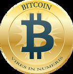Bitcoin Coin Blue Vires (300 DPI)