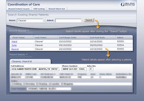Girling Health Care Coordination of Care App