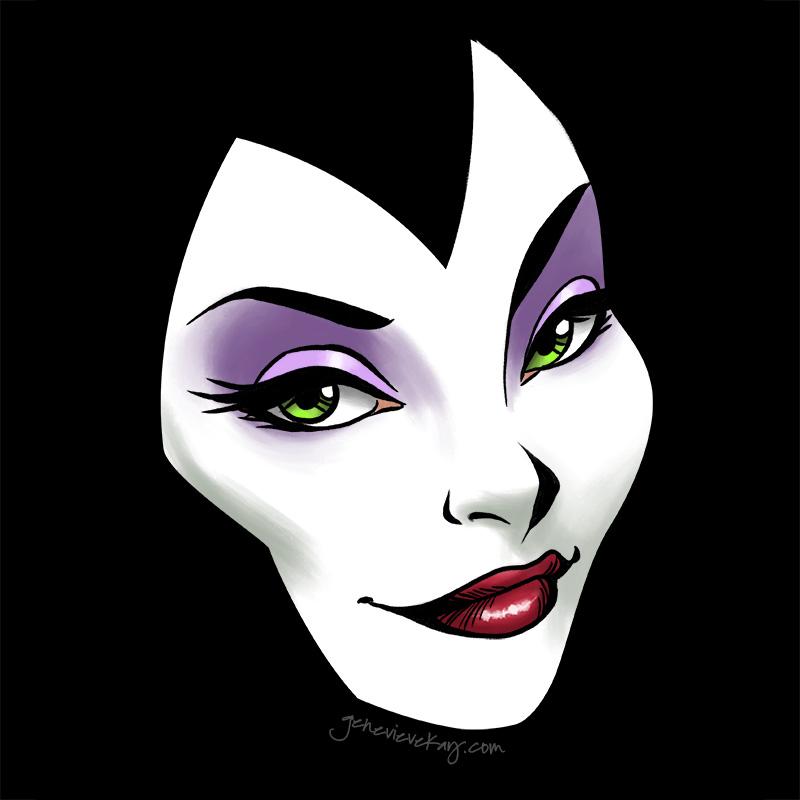 Maleficent by GenevieveKay