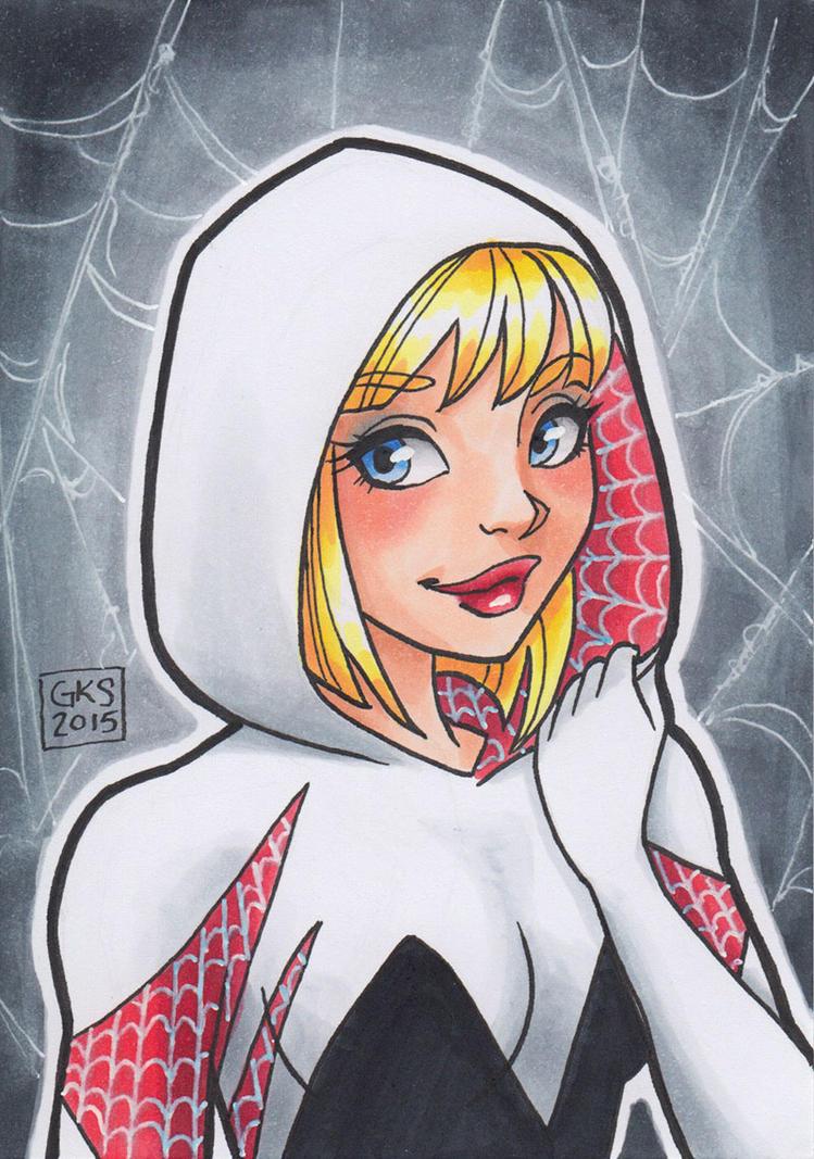 Spider Gwen by GenevieveKay