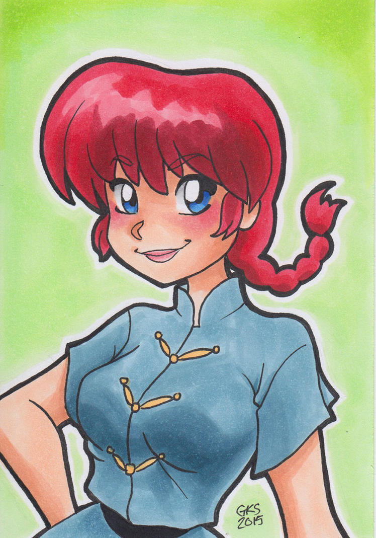 Girl Ranma by GenevieveKay