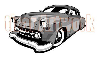 flying Piston Garage Car by tizar