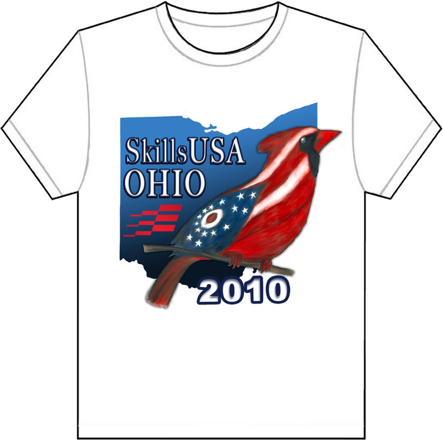 Shirt design usa -  Skills Usa T Shirt By Desertpunk64