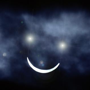 Sonrisa de la luna by artisoler