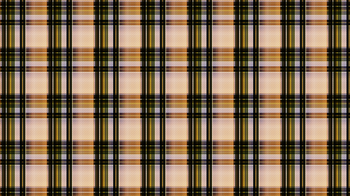 Olive and Gold Plaid by Lateralus138