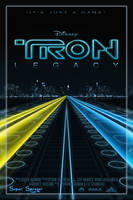 Tron Legacy Wallpaper by GVAR-Photography