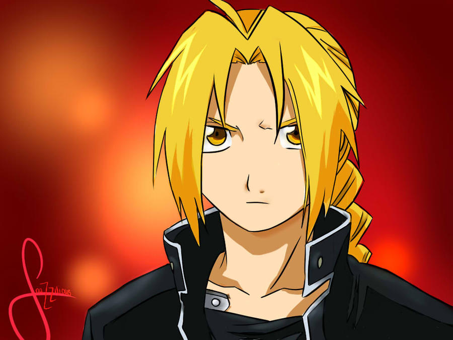 Edward Elric by Snazzilious