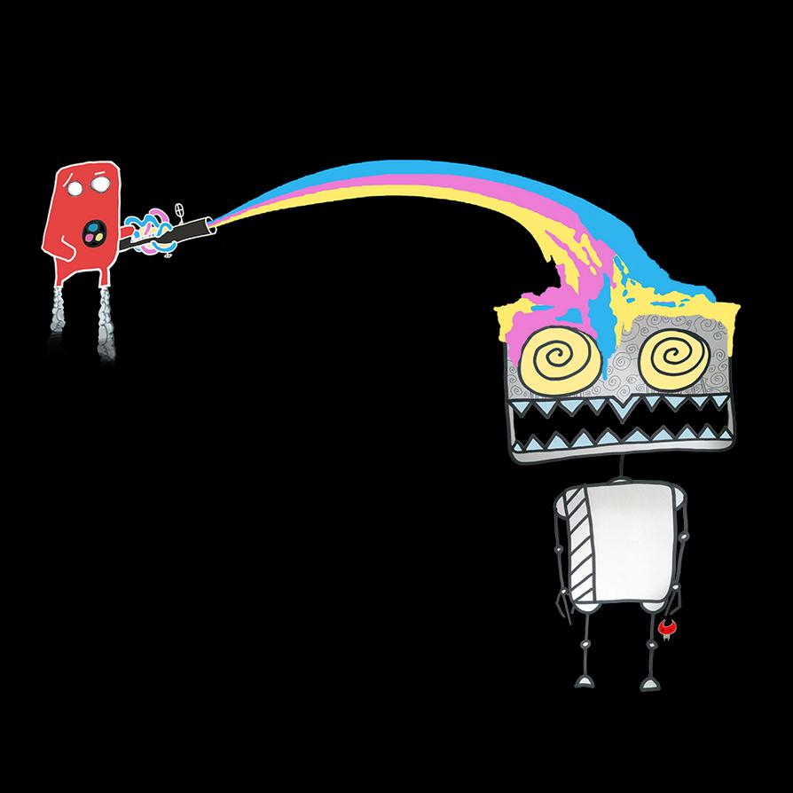 Rainbow Blaster! by AtDistance