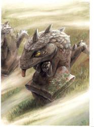crocodail by bertrand-hottin