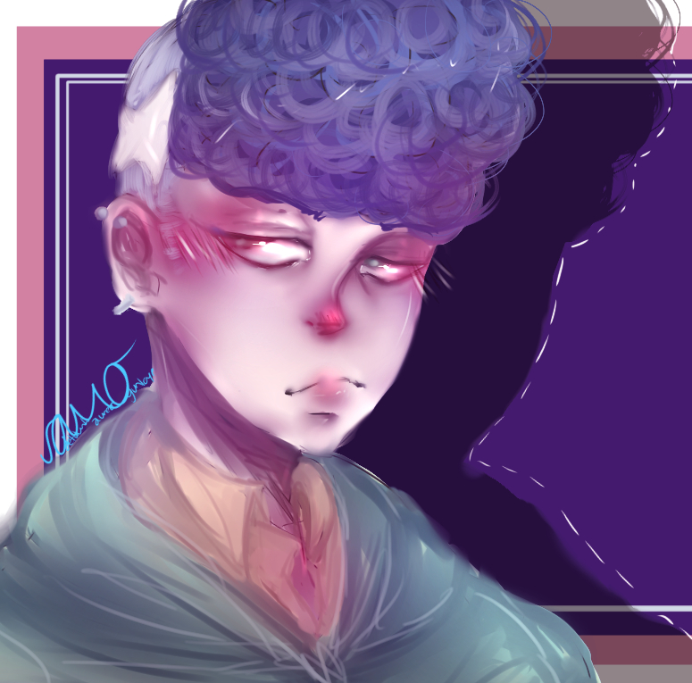 curly boi by oXHersheyKissesXo