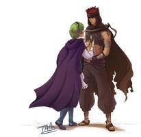 Secret Santa: Nino and Jaffar