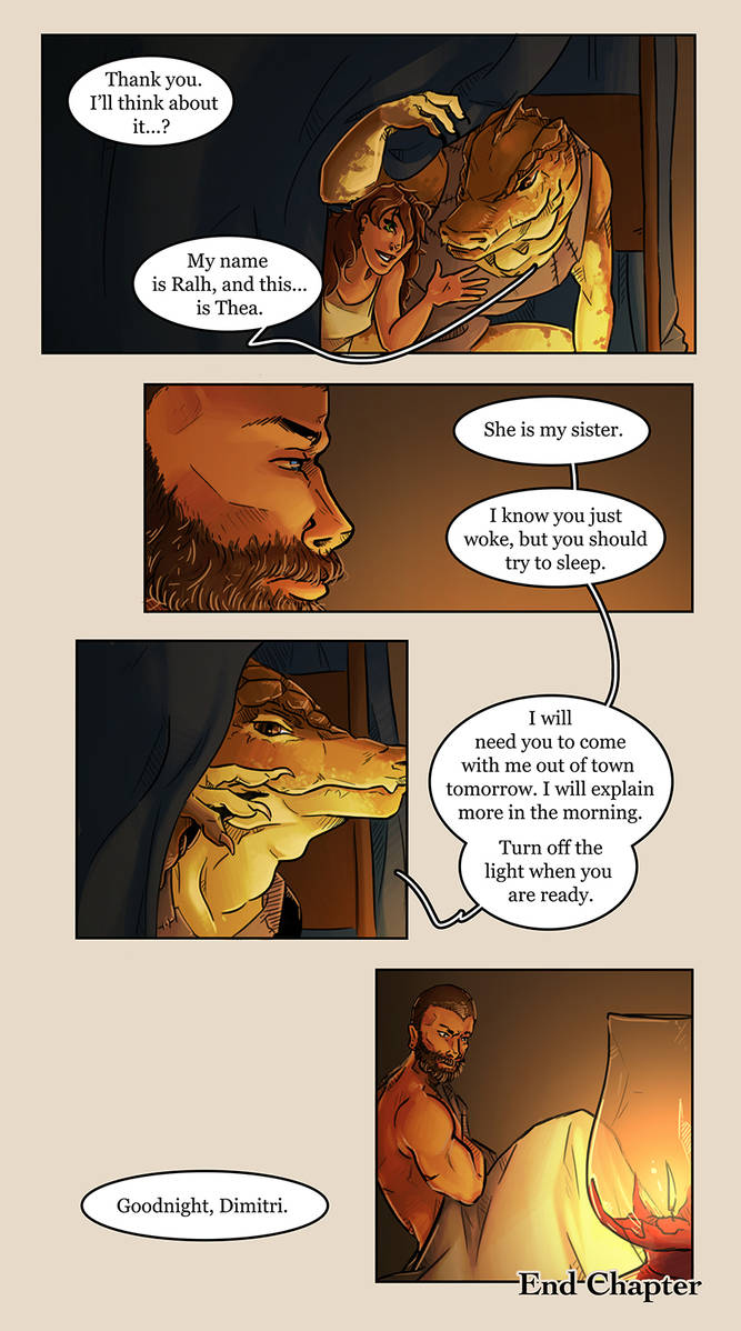 Looking for Oasis - Loss - page 35