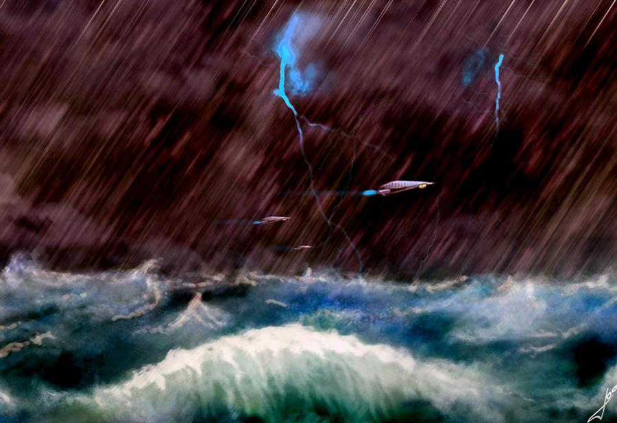 Tormenta En El Mar By 292original On DeviantArt