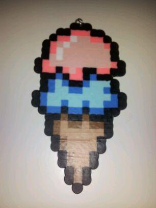 Ice Cream Perler Bead by CrimsonDeathAngel13 on DeviantArt