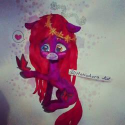 Mlp character drawing by Mokadora