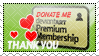 Donate Me Subscription Stamp by in2cr3ativ3
