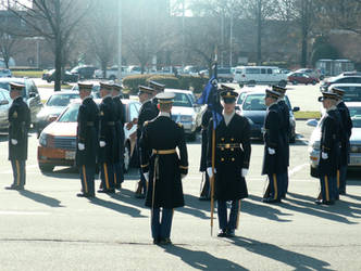 Arlington Military Funeral I by GregoriusU