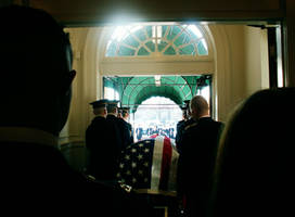 Arlington Military Funeral III by GregoriusU