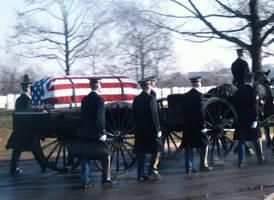 Arlington Military Funeral IV by GregoriusU