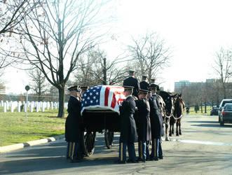 Arlington Military Funeral VII by GregoriusU