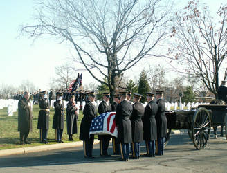 Arlington Military FuneralVIII by GregoriusU