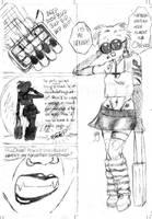 Pencils Page 5 of Poe Parody by GregoriusU