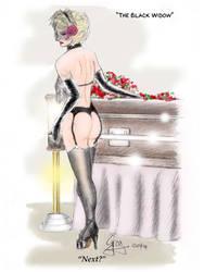 PINUP: The Black Widow by GregoriusU