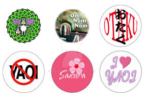 More Button Designs