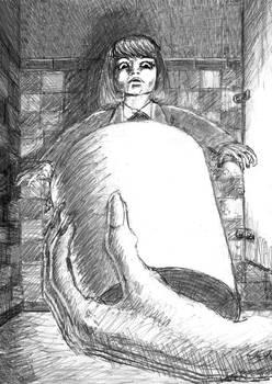 Sketch for Hanako-san
