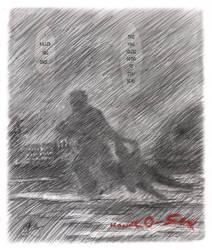 Hanako-san--chase in the rain