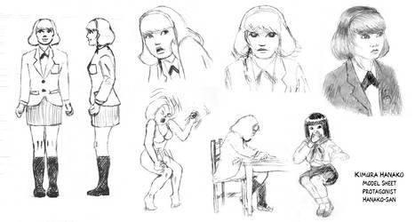 Hanako-san: Na-Chan Model Sheet