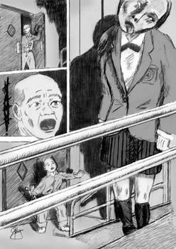HANAKO-SAN p176--hanging ghost