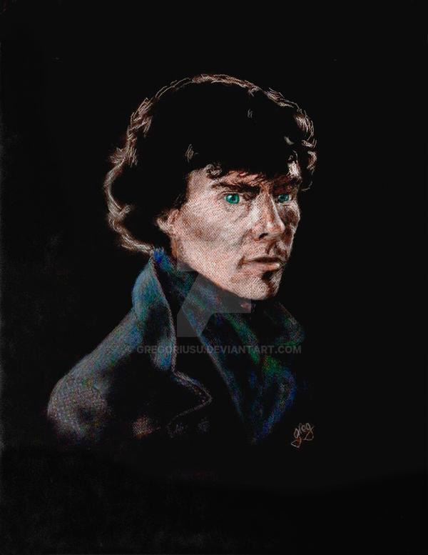 Sherlock-pastel-1 by GregoriusU