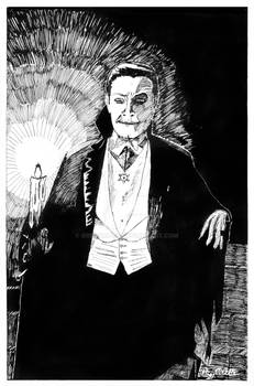 From High School--Bela Lugosi as Dracula