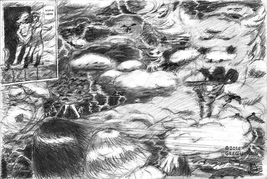 Hellscape from HANAKO-SAN Vol. 3 by GregoriusU