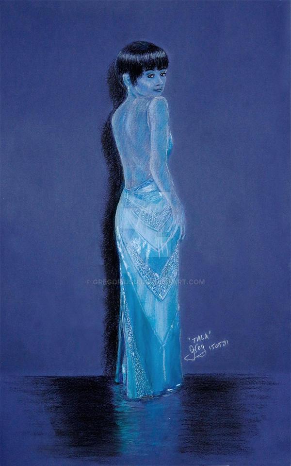 Tala-in-blue by GregoriusU