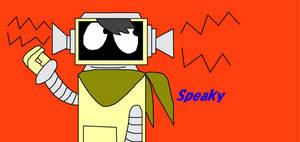 Yo Gabba Gabba! OC Speaky