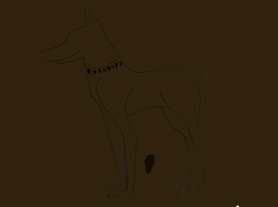 Line Art Help : Doberman line art help by xxxfree spiritxxx on deviantart