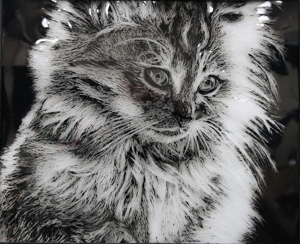 Cat Scratch Art By Artsanpuc101
